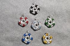Space Knight Pendants   Etsy - They glow! Space Knight, Pink Blue, Glow, Pendants, Red, Etsy, Accessories, Trailers, Pendant