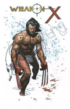 Weapon X - Travis Charest//Travis Charest/C/ Comic Art Community GALLERY OF COMIC ART