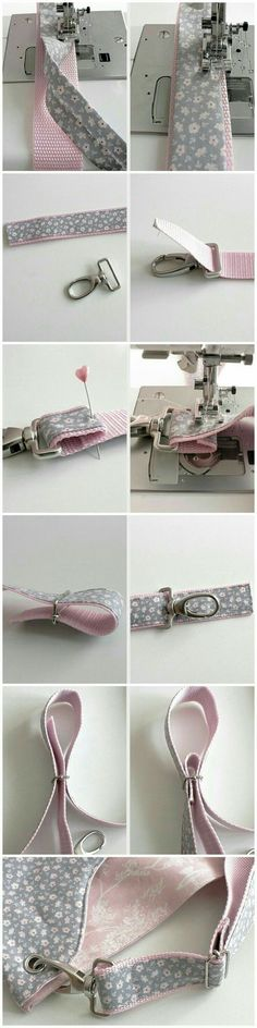 Sling bag sewing tips