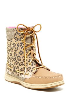 Sperry Top-Sider Hikerfish Leopard Studded Boot by Sperry Top-Sider on @nordstrom_rack