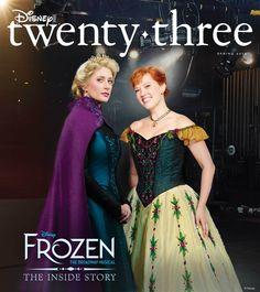 Journey behind the scenes of Disney's new broadway musical, Frozen, with Disney twenty-three. Frozen Kids, Anna Frozen, Disney Frozen, Frozen On Broadway, Frozen Musical, Anna Costume, Frozen Costume, Blue Dresses, Prom Dresses