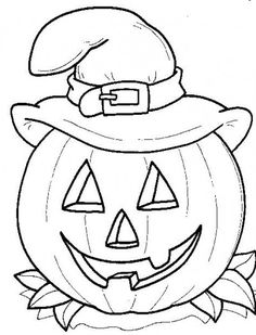 276 best Halloween Coloring Pages images on Pinterest | Coloring ...