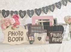Wedding Photo Booth Props Collection by braggingbags on Etsy
