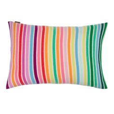 Shop Lumbar Pillow x created by Personalize it with photos & text or purchase as is! Knitted Cushions, Striped Cushions, Custom Pillows, Decorative Pillows, Lumbar Pillow, Throw Pillows, Red Shop, Wide Stripes, Cool Things To Buy