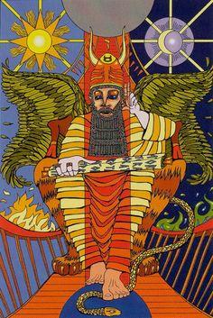 The Hierophant - Tarot of the Sephiroth