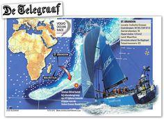 Maps4News in Telegraaf, the Netherlands