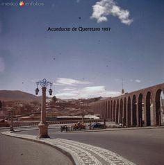 Fotos de Querétaro, Querétaro, México: El Acueducto Hacia 1957