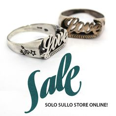 Tattoo Love Ring | Sterling Silver http://shop.vangle.it/saldi/Anello-Love-Tattoo