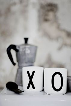 Cant get enough of the Design Letter mugs. In store now. x