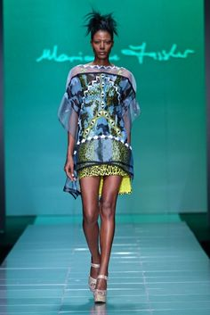 Marianne Fassler @ Mercedes Benz Fashion Week Africa 2013 - Day 1 / South Africa | FashionGHANA.com (100% African Fashion)FashionGHANA.com (100% African Fashion)