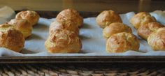 Classic Gruyère Gougères: A make-ahead party snack for holiday entertaining