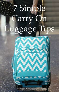 Don't spend money checking a bag, instead efficiently pack a carry on. Here are some carry on luggage tips.