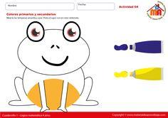 Colores primarios y secundarios 04 - Lógico matemática 4 años