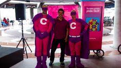 Superheroes diseñados para comfama