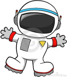 good space suit silhouette