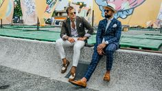 The Spring '18 menswear shows have moved to Florence for the bi-annual Pitti Uomo fair. See all the best street style looks here, from pastel suits to matching couples.