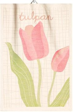 Ekelund Hand Towel - Tulpan / at designsofsweden.com Swedish Kitchen, Hand Towels, Hands, Swedish Cuisine, Towels