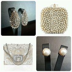 Marchesa Clutches & BrideIstanbul Earrings