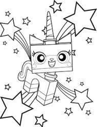 Image Result For Unikitty Colouring Pages Lego Coloring Pages Lego Movie Coloring Pages Unicorn Coloring Pages