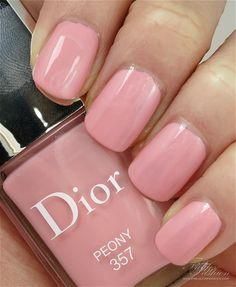 Dior Nail Polish, Dior Nails, Peonies, Pretty, Beauty, Color, Dior Nail Glow, Colour, Beauty Illustration