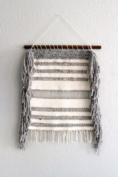 Woven Yarn Textile Weave Wall Hanging