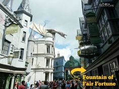 Butterbeer at Universal Studios Orlando - Fountain of Fair Fortune - What does it taste like, how much does it cost and other tips about this popular wizarding drink