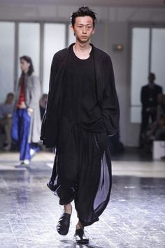 Yohji Yamamoto Spring Summer Menswear 2013 Paris