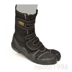 NINJA Tabi Shoes Boots Black / Navy SOKAIDO SAFETY VELCRO L WINS (F/S+Tracking#) #sokaido #WorkSafety