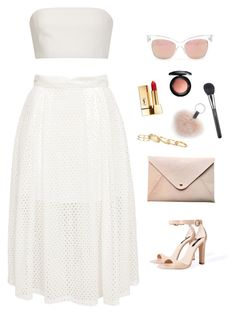 """Untitled #1685"" by humlan17 ❤ liked on Polyvore featuring Zara, Katie Ermilio, Yves Saint Laurent, Kendra Scott, HarLex and MAC Cosmetics"