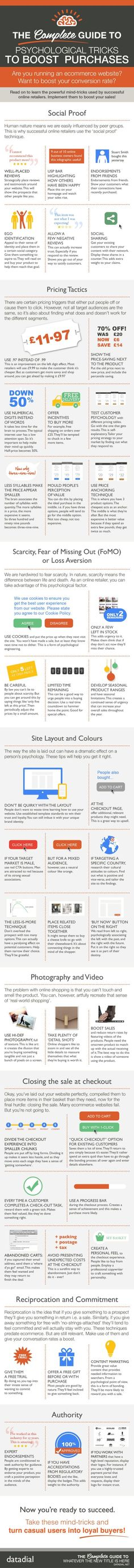 Effective Strategies for Increasing E-Commerce Conversions (Infographic) #seo
