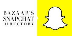 Kokeilussa Snapchat. Tämmöinen listaus löytyi...