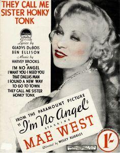 Mae West from I'm No Angel 1933