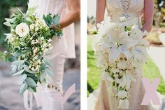 Forma correcta de llevar un ramo de novia tipo cascada (ojo solo para novias altas) #bodas #ElblogdeMaríaJosé #ramonovia