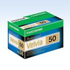 [Photo] FUJICHROME Velvia 50