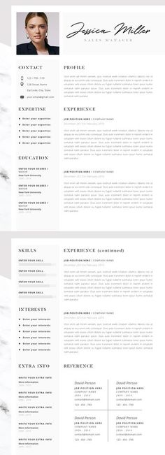 30+ Resume Templates for MAC - Free Word Documents Download school