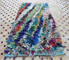 BS43 Boucherouite Carpet - Beyond Marrakech