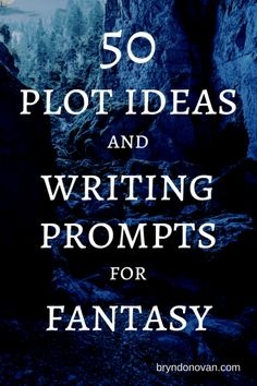 50 Fantasy Writing Prompts and Fantasy Plot Ideas Writing Prompts For Writers, Book Writing Tips, Creative Writing Prompts, Writing Help, Writing Skills, Writers Write, Writing Ideas, Writers Notebook, Writing Workshop