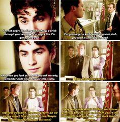 """Teen Wolf Season 5 Episode 3 """"Dreamcatcher"""" Donovan, Stiles Stilinski, and Sheriff Stilinski, Scott McCall, Deputy Jordan Parrish and Mr. Stewart."""