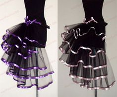 Sexy Girls Woman Tutu Mini Skirt Fancy Costume Outfit Corset Dance Stage Party