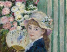 Girl-with-a-Fan-by-Pierre-Auguste Renoir