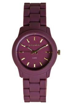 Relógio Technos rosa quase vinho,mega feminino...
