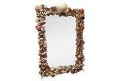 Rectangular Shell Mirror