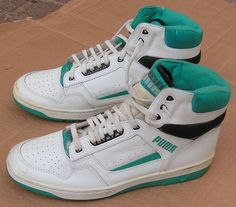 80s Nike High Top Sneakers ...coming soon Puma Basketball Shoes 7c7506b32bee