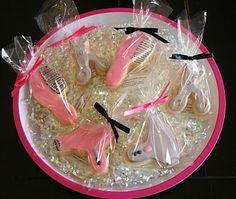 Hair salon cookies - cute idea for client appreciation!