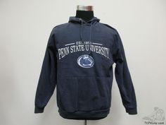 Vtg Seven Apparel Penn State Nittany Lions Hoody Sweatshirt sz L Large Johnson Vintage by TCPKickz on Etsy