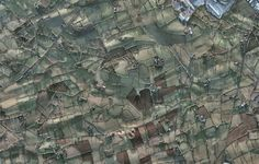 A Google Earth Puzzle of  fields outside of Magherafelt, Northern Ireland