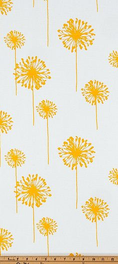 Superb Premier Prints Cloud dandelion pattern fabric in any color shown You may use this listing