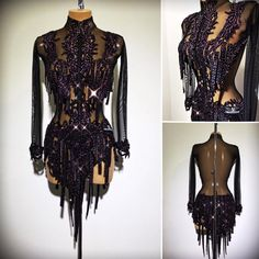 FOR SALE #newdress #abrahammartinez #latindress #black #sexy #purple #forsale