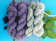 Crafty Katie: Natural Dyeing: Blackberry