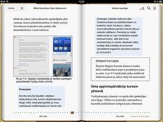 Verkko-opettaja e-kirjan sisältökuva by Klaava Media